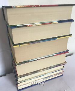 Harry Potter Book Set Bloomsbury Hardbacks Uk First Edition Complete 1-7 Vgc