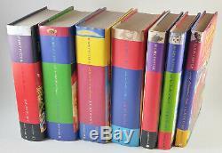 Harry Potter Book Set Complete 1 7 Série Raincoast Canada À Couverture Rigide Avec Dj