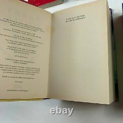 Harry Potter Books Complete Original Set Jk Rowling 2x First Edition 2x Hc 5x Pb