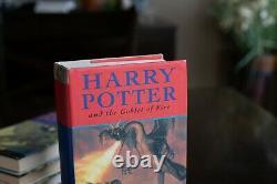 Harry Potter Books Complete Set Hardcover Bloomsbury/raincoast Jk Rowling Avec Dj