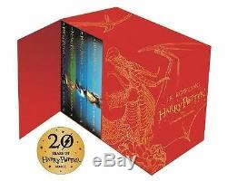 Harry Potter Box Set The Complete Collection (couverture Rigide Pour Enfants)