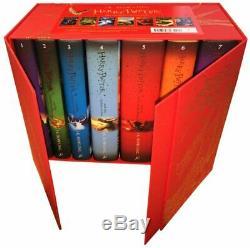 Harry Potter Box Set The Complete Collection (livre Relié Enfants)