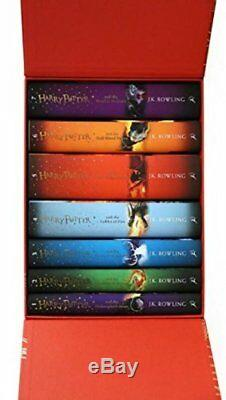 Harry Potter Box Set The Complete Collection (relié) Envoyé Dans Le Monde Entier