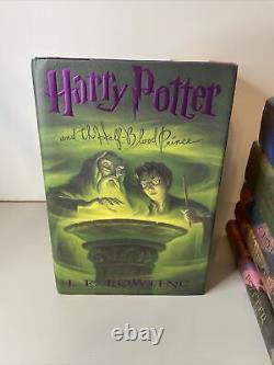 Harry Potter By J. K. Rowling Série Complète De Livres 1ère Édition