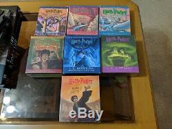 Harry Potter CD Livres Audio Ensemble Complet Lot De 7 Unabridged 5 Are Newithsealed