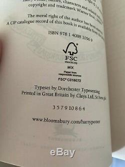 Harry Potter Coffret Broché Rouge Ensemble Complet Collection Signature Bloomsbury