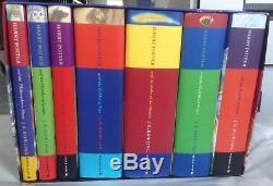 Harry Potter Coffret Complet 1ère Edition Coffret Livre Coffret Coffret Etui Bloomsbury