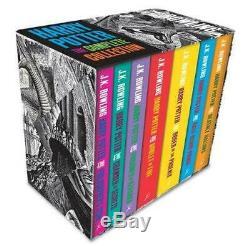 Harry Potter Coffret Complet Collection Adult Broché De J. K. Rowling