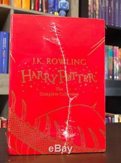Harry Potter Coffret Couverture Rigide, La Collection Complète, Nouveau, J. K. Rowling