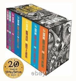 Harry Potter Coffret La Collection Complète Livre De Poche Pour Adultes Janvier