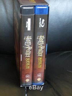Harry Potter Collection Américaine Complète 8 Films 4k Ultra Hd Blu-ray Region Region Gratuit
