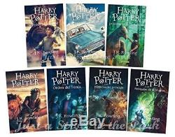Harry Potter Collection Complète Livres En Édition Espagnole 1 2 3 4 5 6 7 Nuevos