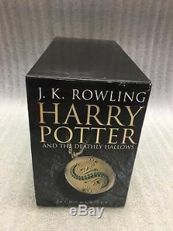 Harry Potter Collection Complète Pour Adulte, Livres Cartonnés Bloomsbury Boxset Books 1-7