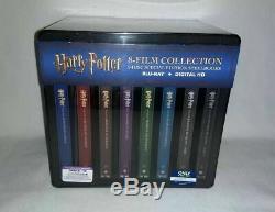 Harry Potter Collection Steelbook Complète De 8 Films Sur Disque Blu-ray / Digital16