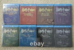 Harry Potter Complet 8 Steelbook 16 Blu-ray Collection Importer Pls Lire Les Défects
