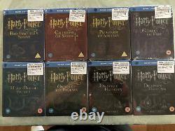 Harry Potter Complet 8 Steelbook 16 Disque Blu-ray Collection Hmv