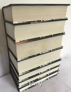 Harry Potter Complet Adult Hardback Book Set 1-7 1ère Édition 1ère Impressions