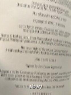 Harry Potter Complet Adult Hardback Book Set 1-7 1ère Éditions 1ère Édition