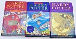 Harry Potter Complet Couverture Rigide Livres 1-7 Bloomsbury Raincoast Jk Rowling