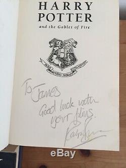 Harry Potter Complet Royaume-uni Bloomsbury Ted Smart Premier Éditions Livre Relié