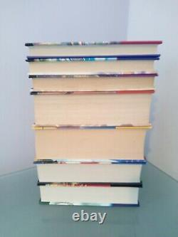 Harry Potter Complet Uk Bloomsbury 1ère Édition Hardback Book Set Of 7