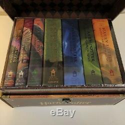 Harry Potter Complete 7 Livre Relié Série Livre In'trunk ' Scelles