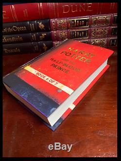 Harry Potter Complète 7 Volumes De Cartons-cadeaux Personnalisés Sur Mesure, Nouveau Poudlard Express