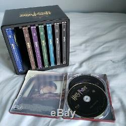 Harry Potter Complete 8 Film Blu-ray Steelbook Collection