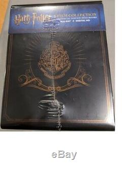 Harry Potter Complete 8 Film Blu-ray Steelbook Collection New Et Scellé