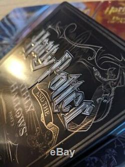 Harry Potter Complete 8 Steelbook 16 Collection Blu-ray Région Gratuit