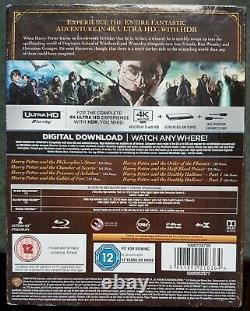 Harry Potter Complete 8-film Collection (4k Uhd Blu-ray, 2018, 16 Set-disc)