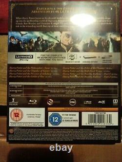 Harry Potter Complete 8-film Collection 4k Uhd Blu-ray, 2018, 16-disc Set Nouveau Jv
