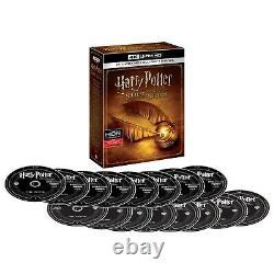 Harry Potter Complete 8-film Collection (4k Ultra Hd, Canadien) Avec Digital