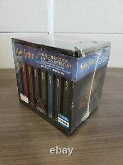 Harry Potter Complete 8-film Collection Steelbook Blu-ray Region 1/a Damaged
