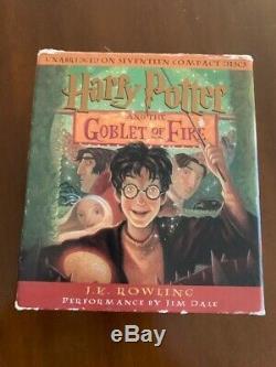 Harry Potter Complete Audio Books De Jim Dale Livraison Gratuite À Saisir
