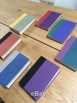 Harry Potter Complete Book Set Relié 1-7 J. K. Rowling 1er Ed Américain. Lot