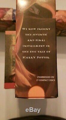 Harry Potter Complete Collection Audio CD Set Livres 1 7 Jk Rowling Et Jim Dale