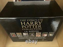 Harry Potter Complete Collection Edition Adulte Bloomsbury Couverture Rigide Ensemble Rare