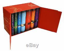 Harry Potter Complete Collection Livres Coffret J. K. Rowling Deluxe Livre Relié Rouge