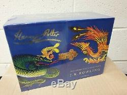 Harry Potter Complete Collection Signature Edition Relié Bloomsbury Sealed
