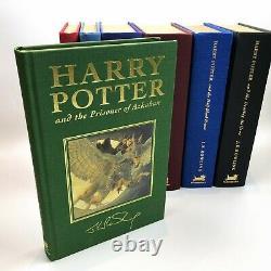 Harry Potter Complete Deluxe Set 7 Volumes Par J. K. Rowling 1er / 1er 1999-2007
