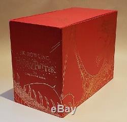 Harry Potter Complete Edition Limitée Relié Tous Les 7 Set Box Livres