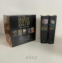 Harry Potter Complete Hardback Collection Edition Adulte. Ensemble Complet De Livres 1-7