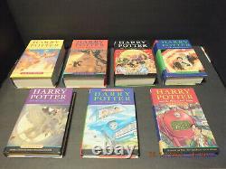 Harry Potter Complete Hardcover Set Livres 1-7 Bloomsbury Raincoast Jk Rowling