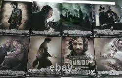 Harry Potter Complète La Collection De 8 Films Blu-ray Steelbook Collection Future