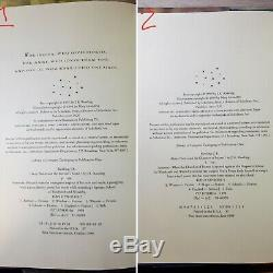 Harry Potter Complete Relié Book Set 1-7 Rowling 1st Edition 1st Printing Hc