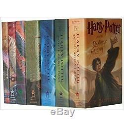 Harry Potter Complete Series 1-7 J. K Rowling Livre Boxed Set Dur Couvert