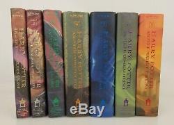 Harry Potter Complete Series First American Édition Relié + Deux Livres Supplémentaires