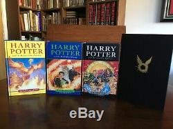Harry Potter Complete Set + 1, J. K. Rowling, Bloomsbury, Hardback, Première Édition