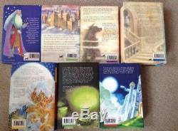 Harry Potter Complete Set 7 Complète Livres Hardback Bon État Vestes Poussière